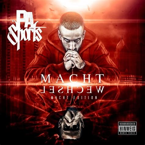 PA Sports - Machtwechsel (Cover, Tracklist, Snippet)