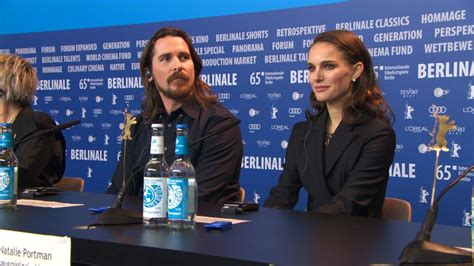 'Knight of Cups' Press Conference - 65th Berlin Film