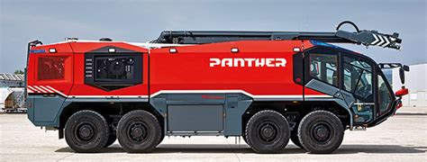 The Panther 8x8: The flagship of aircraft rescue and fire