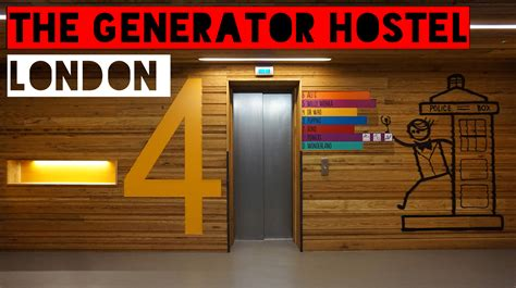 Review: The Generator Hostel, London - Backpacks and Bunkbeds