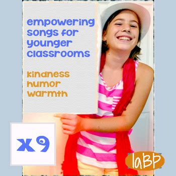 Empowering songs: classroom music by I am Bullyproof   TpT