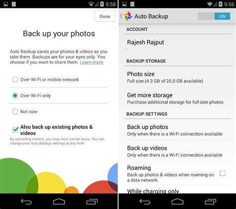 Auto-Upload Your Android Pictures to Google+ & Dropbox