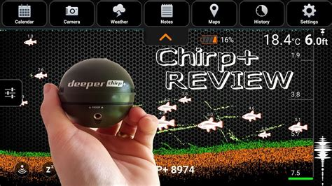 New Deeper Chirp+ Review - YouTube
