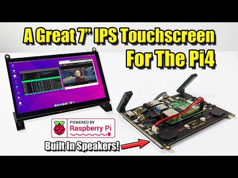 Raspberry Pi now has an official touchscreen display