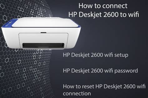 How to connect hp deskjet 2600 to wifi in 2020 | Printer