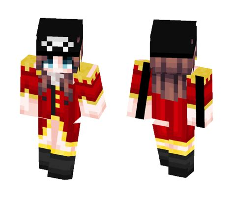 Download Elina-Captain Of The Mermaid Pearl Minecraft Skin