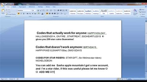 STAR STABLE CODES!!!!!!! :DDD WORKS! - YouTube