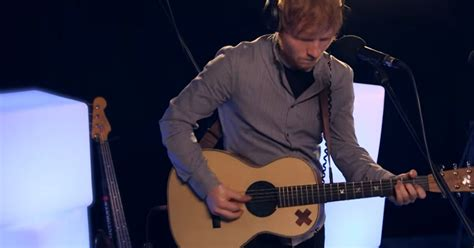 Ed Sheeran Goes In For An Impressive Live Session And