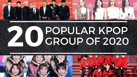 WHO ARE THE MOST POPULAR KPOP GROUP OF 2020 - YouTube