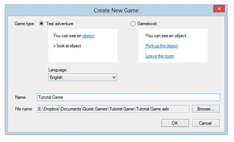 Creating a simple game