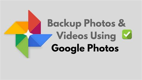 Backup Android photos and videos on Google Photos - YouTube