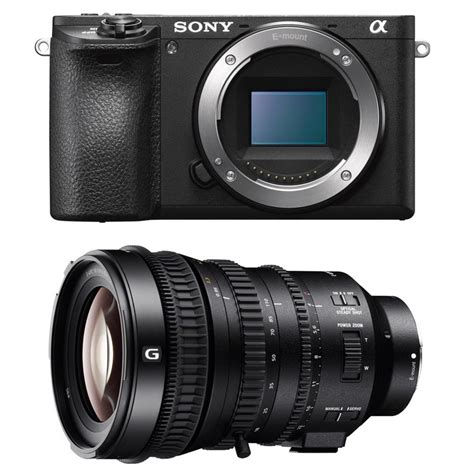 Buy Sony ALPHA 6500 + SEL E PZ 18-110mm F4 G OSS at the