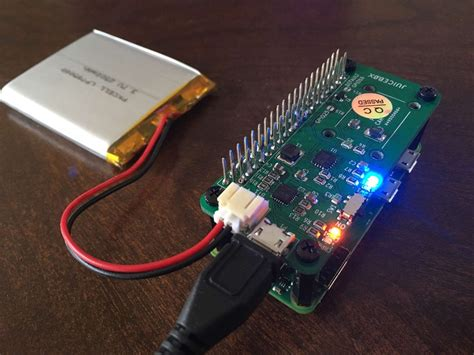 Power Your Raspberry Pi Zero With a Battery & JuiceBox