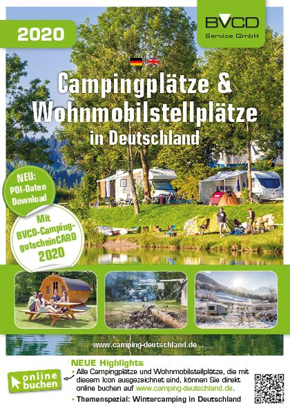 BVCD-Shop | BVCD-Campingführer 2020 | purchase online in