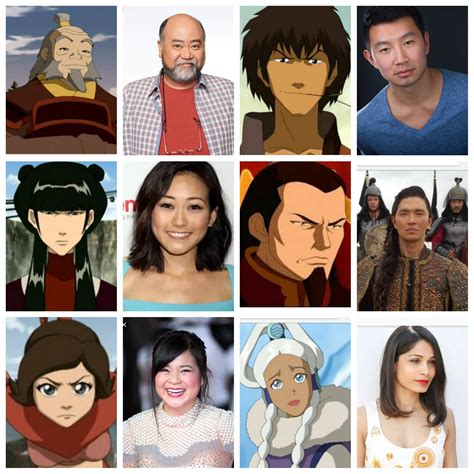 My Live Action Dream Cast Thelastairbender