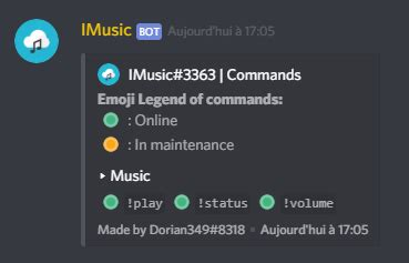 [-50%] ⋆ IMUSIC ⋆   Discord Music Bot   Youtube Search
