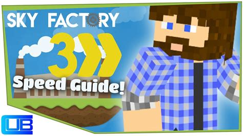 Getting Started | Cub's Speed Guide to Sky Factory 3 | Ep