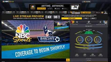 NBC adds 45-minute preview feature to NBC Sports Live