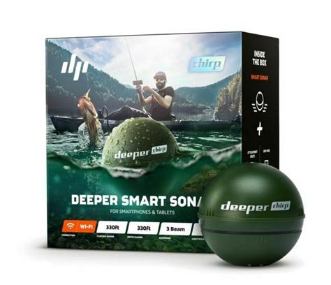 Deeper CHIRP Smart Sonar (ITGAM0631) for Pro Anglers for