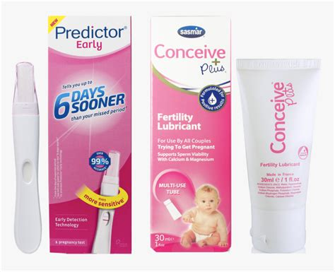 Conceive Plus® & Predictor Early Pregnancy Test Kit