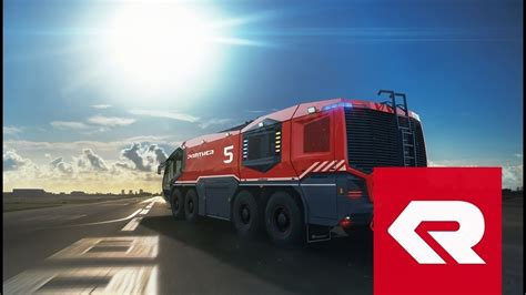 The new PANTHER 8x8 - Rosenbauer - YouTube