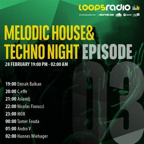 MELODIC HOUSE & TECHNO EPISODE 003 – Loops Radio