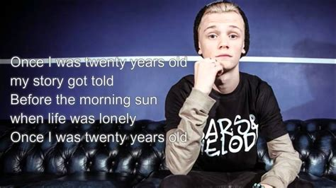 Lukas Graham - 7 years Bars and Melody cover lyrics - YouTube