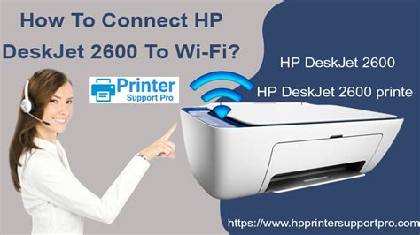 How To Connect HP DeskJet 2600 To Wi-Fi? HP Printer Support
