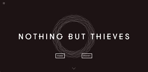 NOTHING BUT THIEVES - Awwwards SOTD